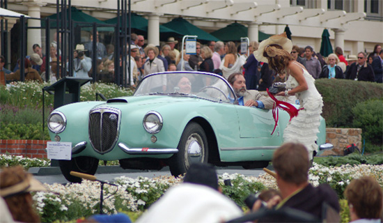 Pebble Beach 2008, Second in class, Postwar Preservation